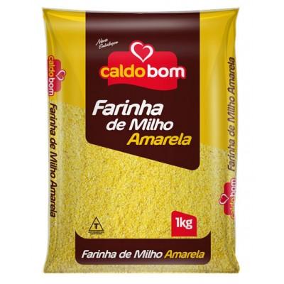 2579 - Farinha de milho amarela Caldo Bom 1kg