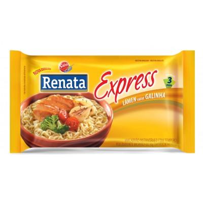 2592 - macarrão instantâneo sabor galinha Renata 85g