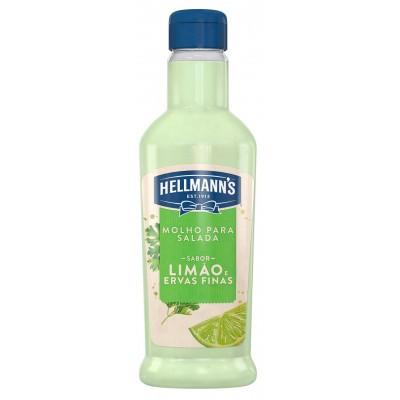 2600 - molho para salada limão ervas finas Hellmann's 210ml