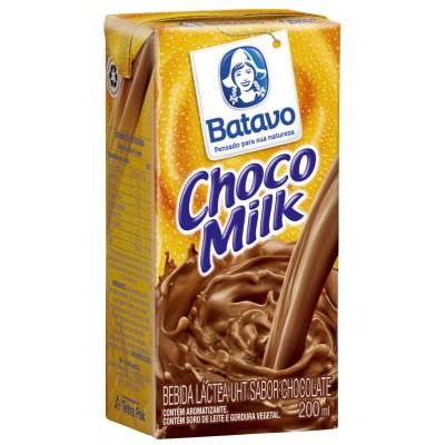 2617 - achocolatado líquido Chocomilk TP 24 x 200ml