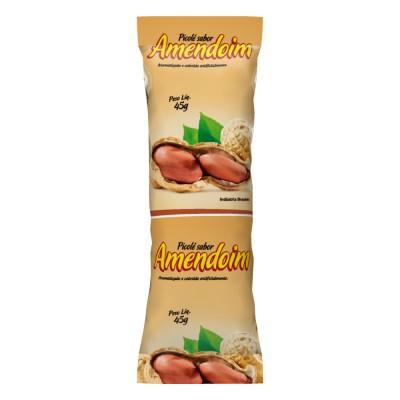 2625 - embalagem para picolé amendoim 290un 6,7 x 19cm Bopp perolizado Rio novo