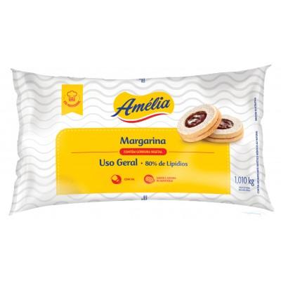 2696 - margarina com sal 80% lipídios Amélia 1,01kg