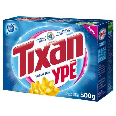 2713 - sabão extra pó Tixan caixeta 500g