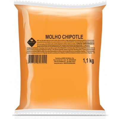 2787 - molho chipotle Junior bag 1,1kg