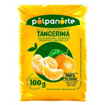 2792 - polpa de tangerina Polpa Norte 10 x 100g