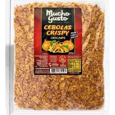 2853 - cebola crispy Mucho Gusto 200g