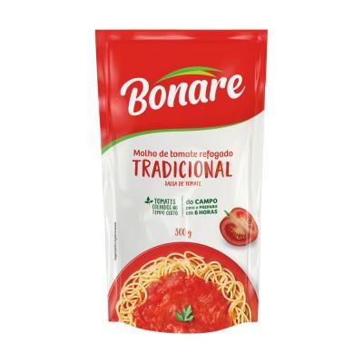 2863 - molho tomate tradicional Bonare sachê 340g
