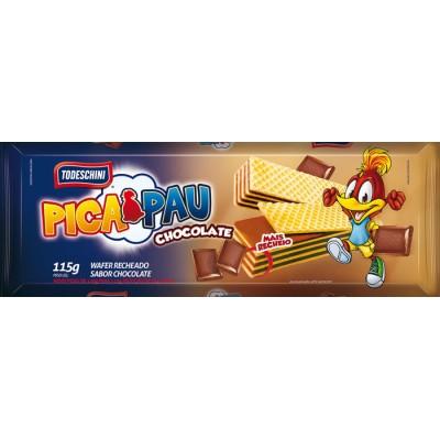 2969 - biscoito wafer chocolate Todeschini 115g
