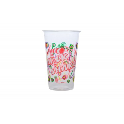 3020 - copo 550ml impresso Milk Shake PP Kopus 50un Cód. 103 (tampa 3004)