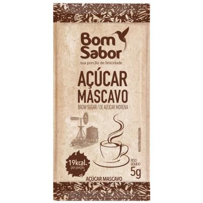 3028 - sachê açúcar mascavo Bom Sabor 200 x 5g