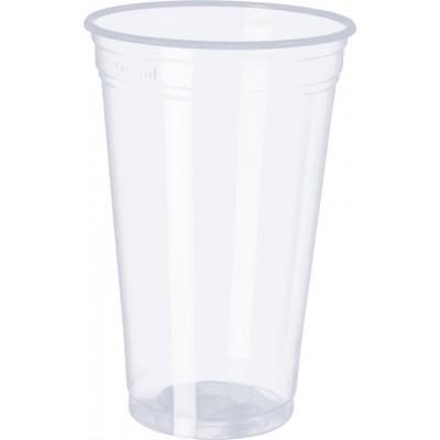 3069 - copo 500ml transparente liso PP Copobras 50un ppt550 (tampa 2414)