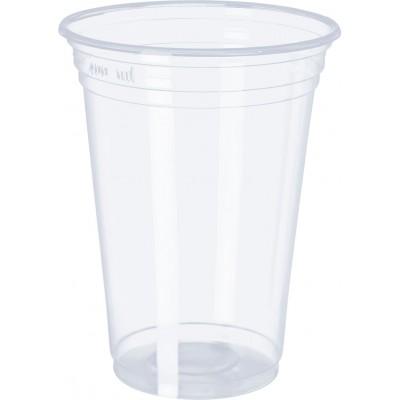 3070 - copo 300ml transparente liso PP Copobras 50un PPT330 (tampa 2149)
