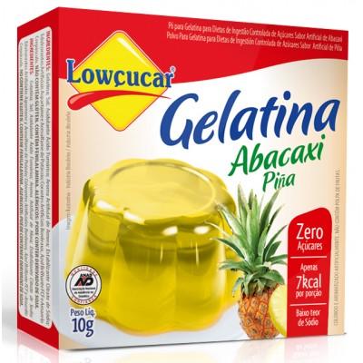 3112 - gelatina diet abacaxi Lowçúcar 10g