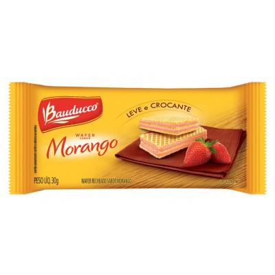 3116 - sachê biscoito wafer morango Bauducco 96 x 30g