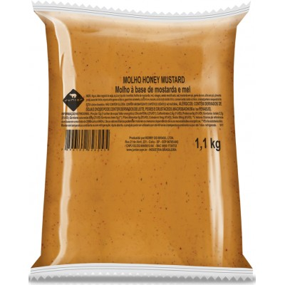 3139 - molho Honey Mustard Junior bag 1,1kg