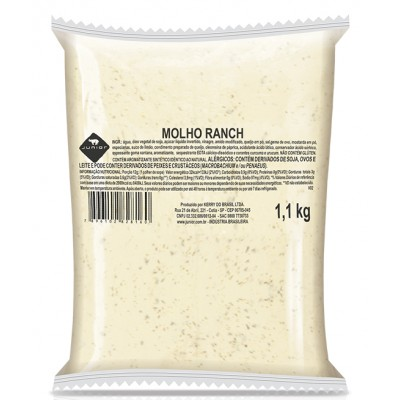 3141 - molho Ranch Junior bag 1,1kg
