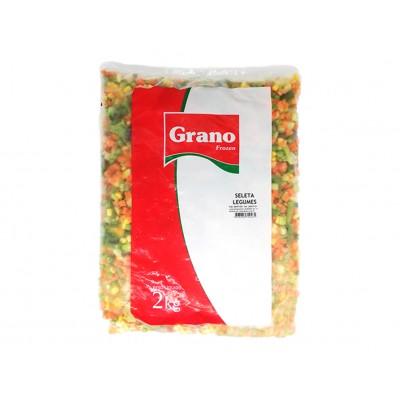 3286 - seleta Grano 2kg - cenoura, ervilha, couve-flor, brócolis, vagem