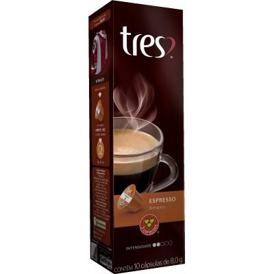 3297 - cápsula café expresso ameno 3 Corações 10un