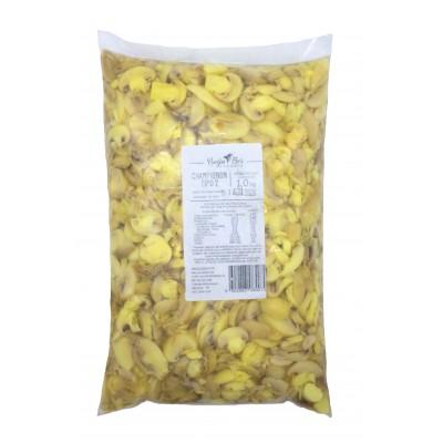 3319 - cogumelo/champignon fatiado tipo 2 beija flor 1,01kg