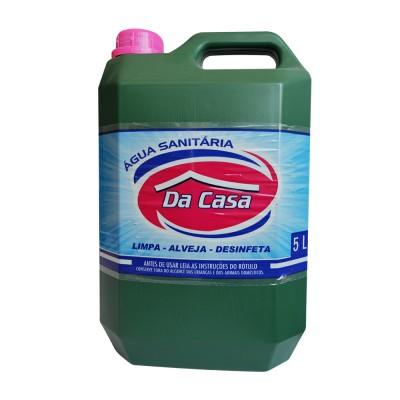 3334 - água sanitária Da Casa 5L