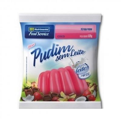 3354 - pudim sem leite coco Nutrimental 520g rende 81 porções de 80ml