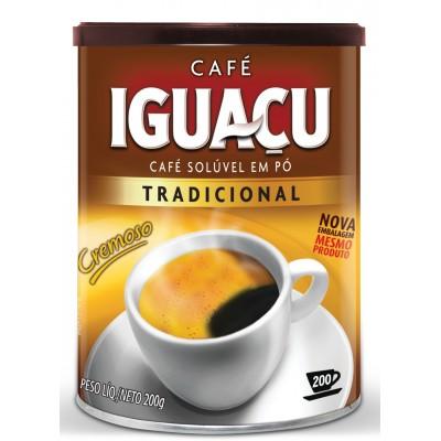 3359 - café solúvel Iguaçu lata 200g