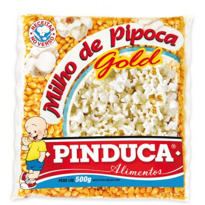 3473 - milho pipoca Pinduca 500g