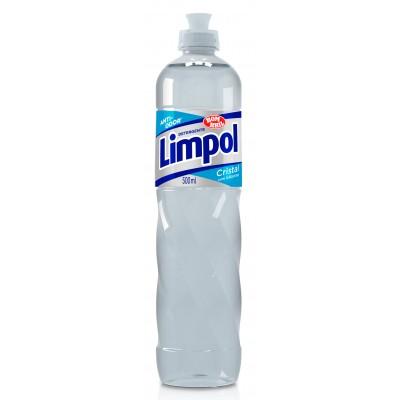 3522 - detergente neutro cristal Limpol 500ml