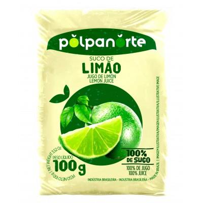 3552 - polpa de limão Polpa Norte 10 x 100g