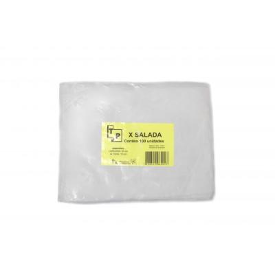 3598 - saco plástico para xis salada 15 x 20cm 100un