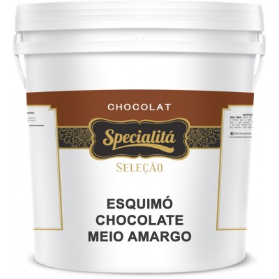 3607 - stracciatella cobertura para sorvete Specialitá chocolate meio amargo 10kg