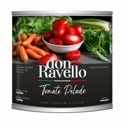 3635 - tomate pelado Don Ravello 2,55kg