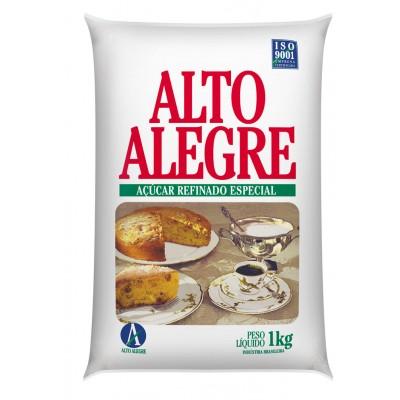 3711 - açúcar refinado 1kg Alto Alegre