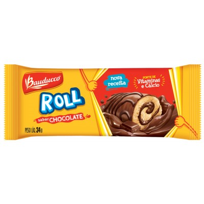 3793 - rocambole Roll cake chocolate Bauducco 15 x 34g