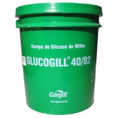 3884 - xarope de glicose de milho Glucogill 40/82 balde 25kg