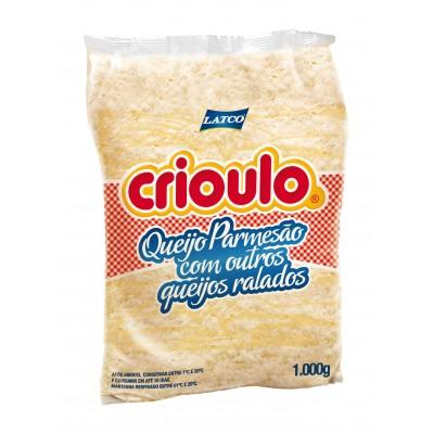 3907 - queijos ralados fino Crioulo 1kg