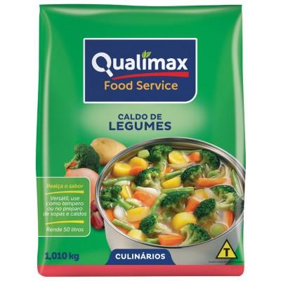 3911 - caldo de legumes Qualimax 1,01kg rende 50L