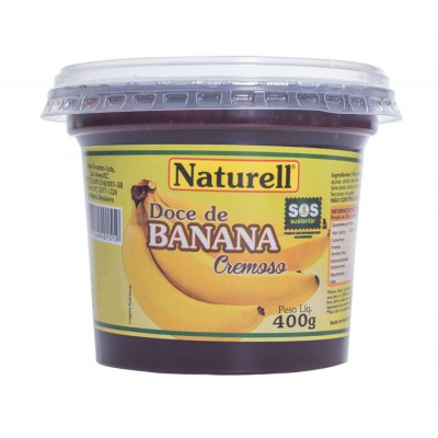 3916 - doce banana Naturell 400g