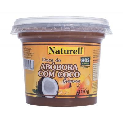 3917 - doce abóbora com coco Naturell 400g