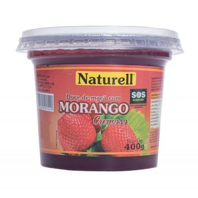 3918 - doce morango Naturell 400g