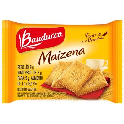 3951 - sachê biscoito Maizena Bauducco 410 x 9g