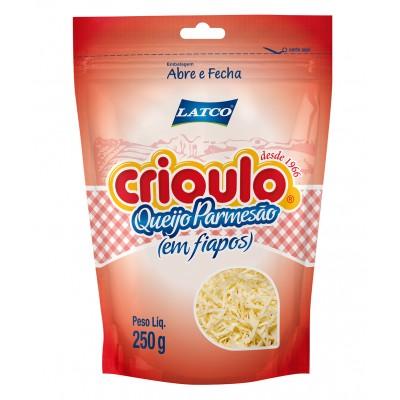 3954 - queijo parmesão fiapos Crioulo 250g