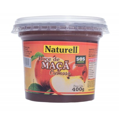3955 - doce maçã Naturell 400g