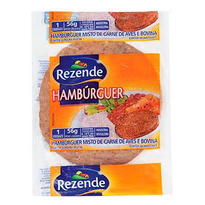 3957 - hambúrguer frango/suíno Rezende 36 x 56g