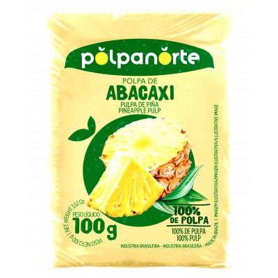 4030 - polpa de abacaxi Polpa Norte 10 x 100g