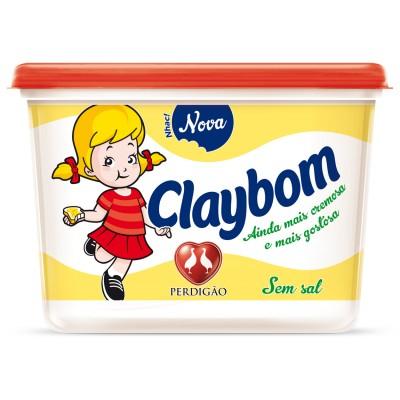 4099 - margarina sem sal 50% lipídios Claybom 500g