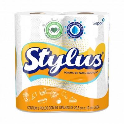 4105 - papel toalha Stylus 2 x 50 toalhas