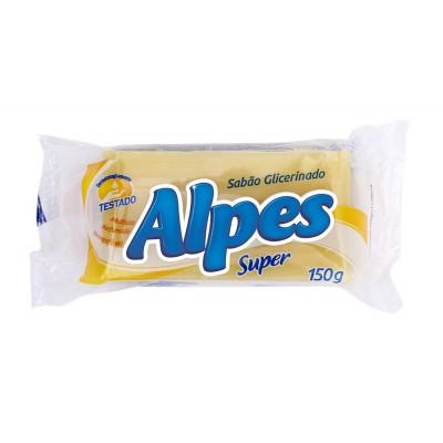4183 - sabão barra Alpes embalagem unitária de 150g
