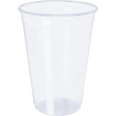 4279 - copo 500ml transparente estria PP Copobras 50un cft500 (tampa 2414)