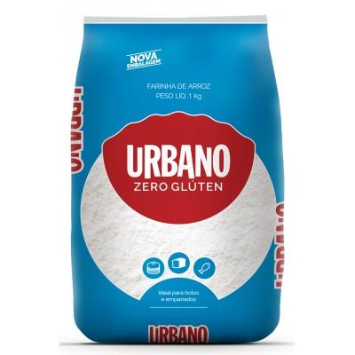 4366 - farinha de arroz sem glúten Urbano 1kg